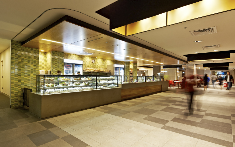 Zouki Westmead Hospital Designers: Red Design Group